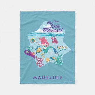 The Little Mermaid & Friends Fleece Blanket