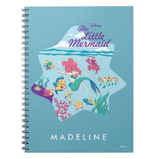The Little Mermaid & Friends Notebooks