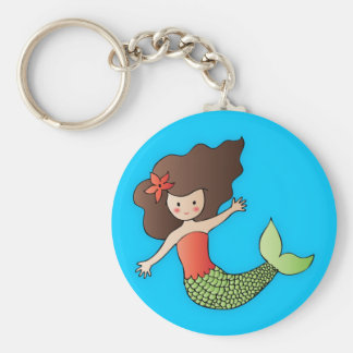 The Little Mermaid Keychain