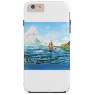 The little Mermaid seascape painting Tough iPhone 6 Plus Case