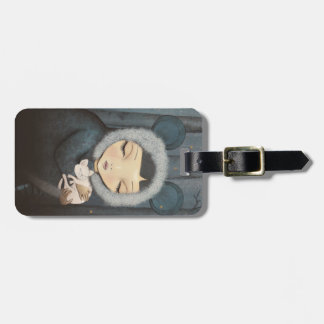 The little Mouse Princess Luggage Tag