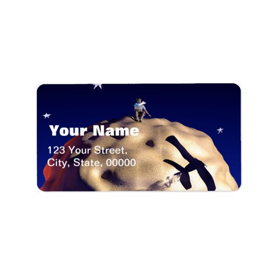THE LITTLE PRINCE Customisable Address Labels