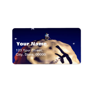 THE LITTLE PRINCE Customizable Address Labels