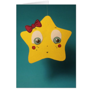 The Little Star Greeting Card