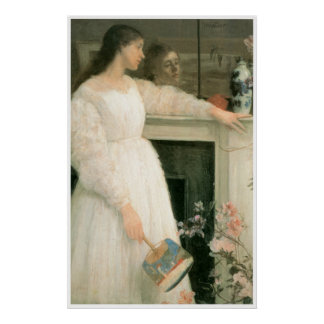 The Little White Girl: Symphony in White No2. 1864 Poster