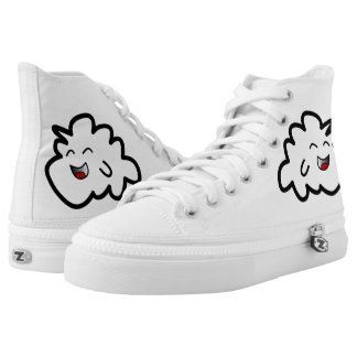 The Littlest Cloud Custom Zipz Shoes