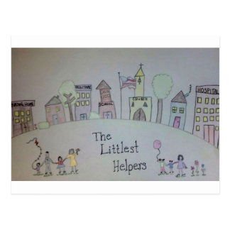 The Littlest Helpers is going Viral! Postcard