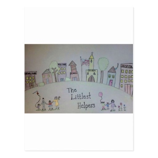 The Littlest Helpers is going Viral! Postcards