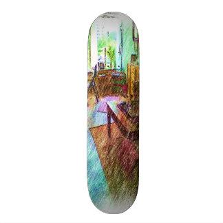The Living room 21.6 Cm Skateboard Deck
