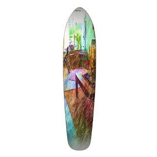 The Living room Custom Skate Board