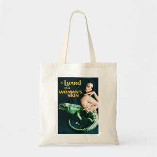 The Lizard in the Woman's Skin, vintage horror Tote Bag
