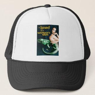 The Lizard in the Woman's Skin, vintage horror Trucker Hat