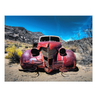 The Lobster Car a Vintage 1939 Chevy Photo Print