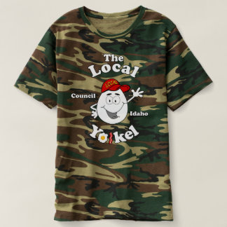 The Local Yolkel Camo T T-Shirt