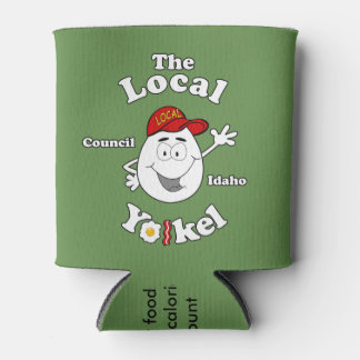 The Local Yolkel - Can Koozie