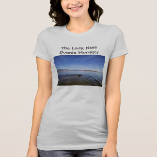 The Lock Ness Doggie Monster T-Shirt