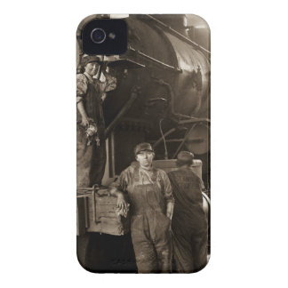 The Locomotive Ladies of World War I iPhone 4 Covers