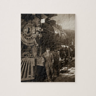 The Locomotive Ladies of World War I Jigsaw Puzzle