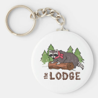 The Lodge Key Ring