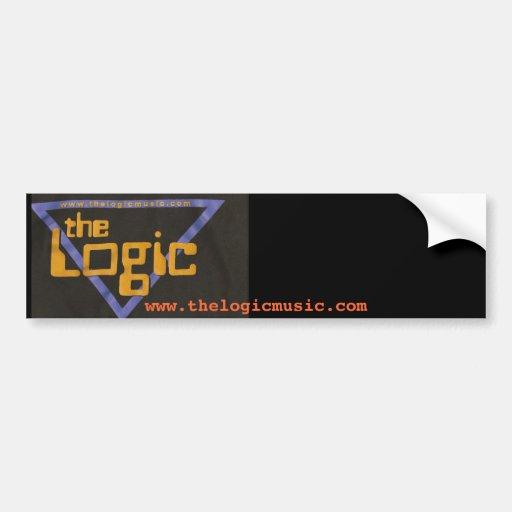 """The Logic """" Bumper Sicker """" Bumper Stickers"""