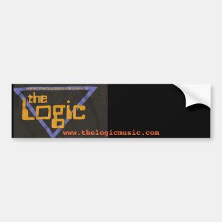 The Logic Bumper Sicker Bumper Stickers