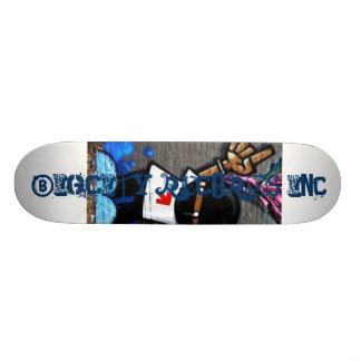 the logo ts, BigCity Records Inc., BigCity Reco... 18.1 Cm Old School Skateboard Deck