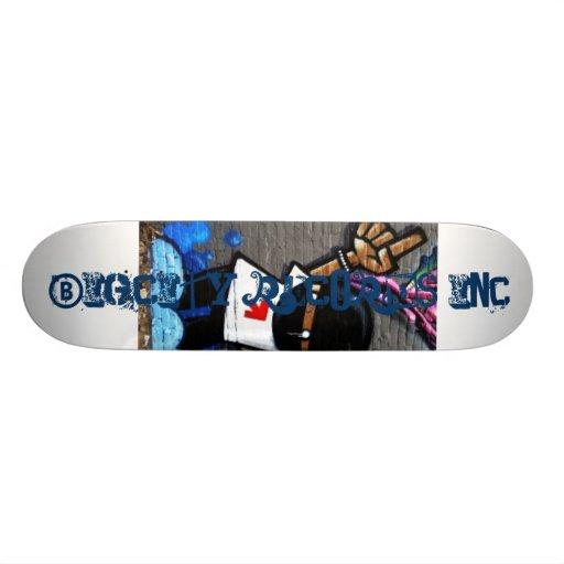 the logo ts, BigCity Records Inc., BigCity Reco... Skate Board Deck