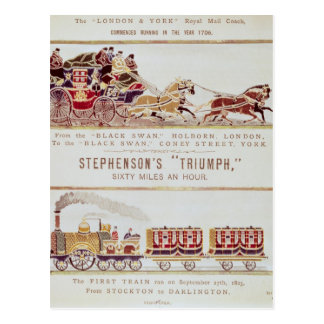 The 'London and York' Royal Mail Coach Postcard