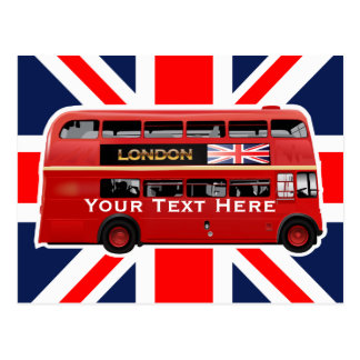 The London Bus Postcard
