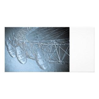 The London Eye Art Customized Photo Card