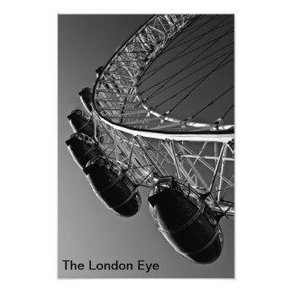 The London Eye Art Photo