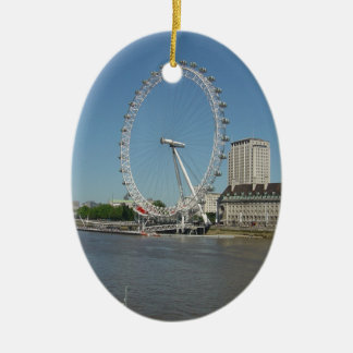 The London Eye Ceramic Ornament