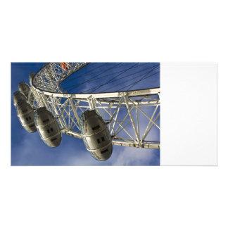 The London Eye Customized Photo Card