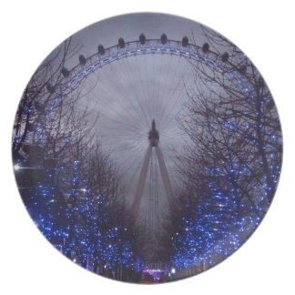 The London Eye Plate