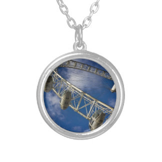 The London Eye Silver Plated Necklace