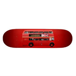 The London Red Bus 21.6 Cm Old School Skateboard Deck