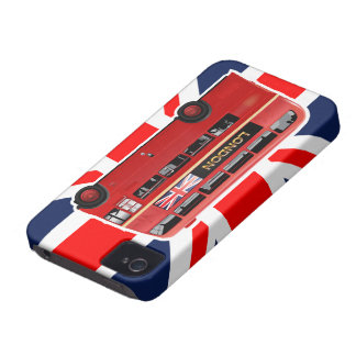 The London Red Bus Case-Mate iPhone 4 Case