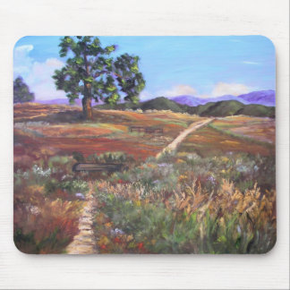 The Lone Oak at Woodside Horse Park - Customized Mouse Pad