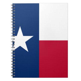 The Lone Star Flag Texas Flag Notebook
