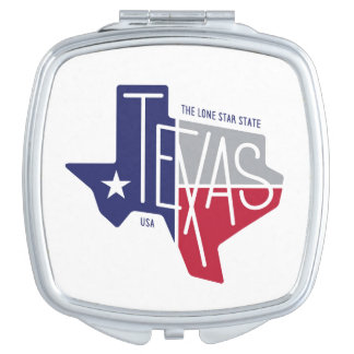 The Lone Star State Makeup Mirror