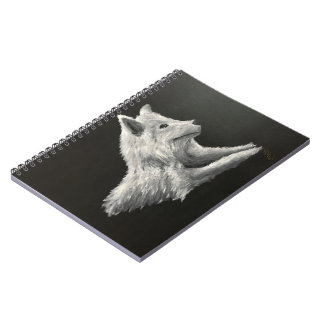 'The Lone Wolf' Notepad Notebooks