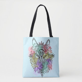 The Lone Wolf Tote Bag