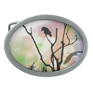 The Lonely Crow Belt Buckle
