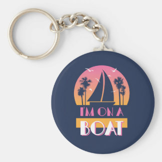 The Lonely Island - I'm On A Boat Key Ring