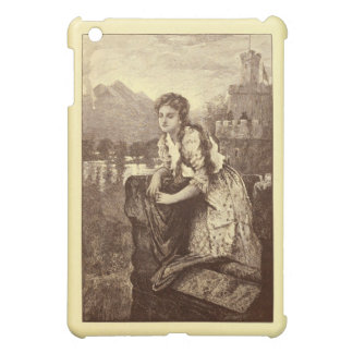 The Lonely Maiden 1906 engraving Case For The iPad Mini