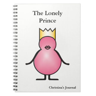 The Lonely Prince Collection Personalized Notebook