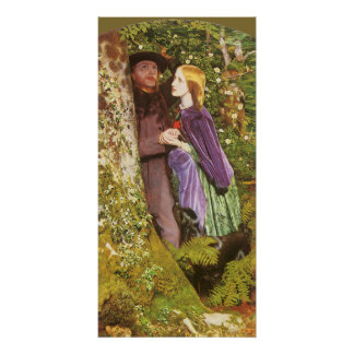 The Long Engagement by Arthur Hughes Print