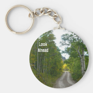 The long road ahead, Look Ahead Basic Round Button Key Ring