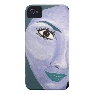 THE LOOK ( blue ) iPhone 4 Cover