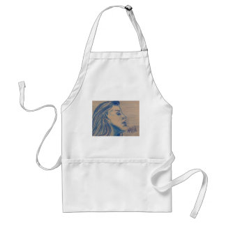 The Look Blue Series by Michael David Standard Apron